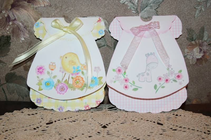 baby dresses - baby c ards by seaside rose