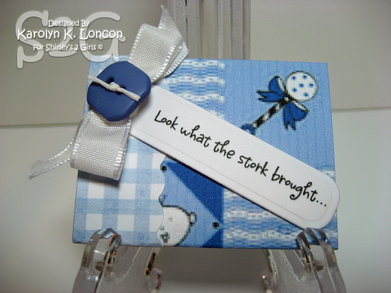 Match Box Baby Announcements Rattle by garkarlon Cards and – Baby Announcement Boxes