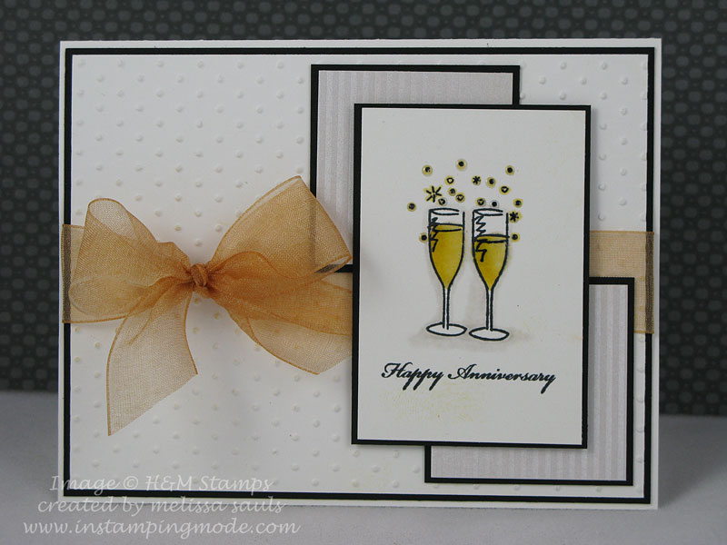 happy anniversary glasses by melissaaggie at