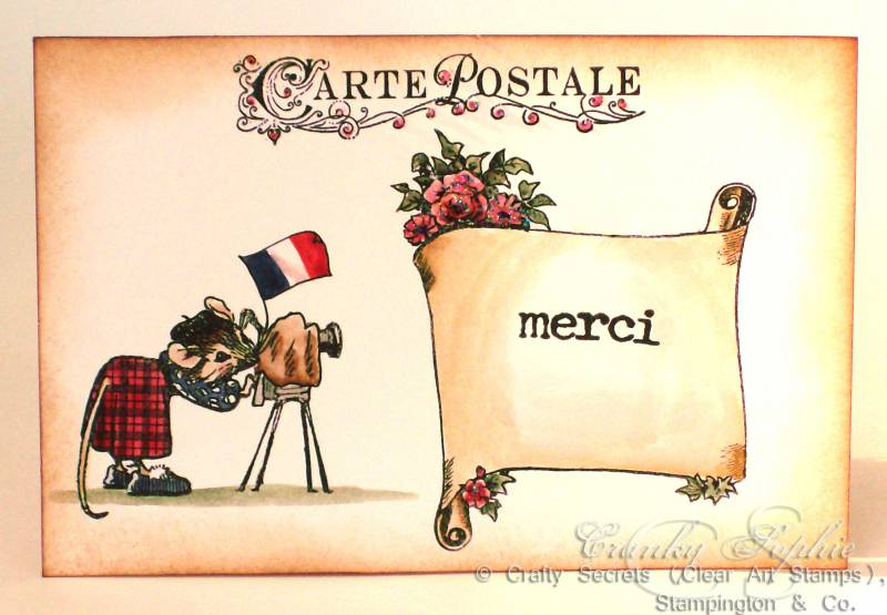 The Little Store >> Carte Postale merci by SophieLaFontaine - at ...