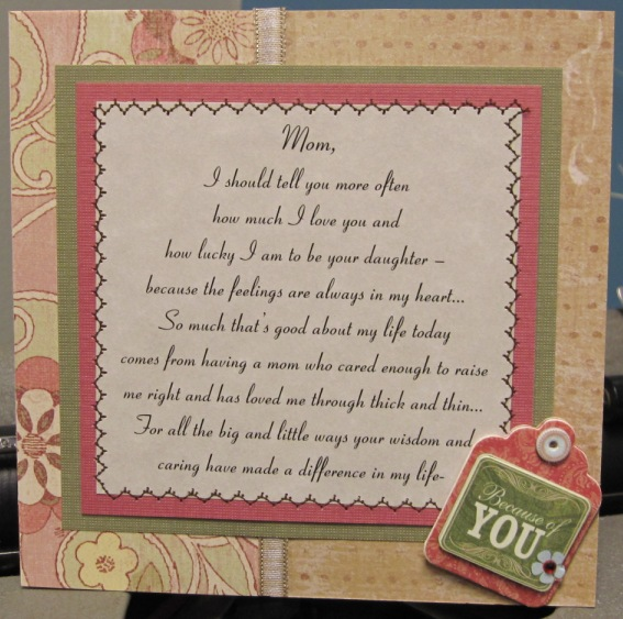 Mom poem birthday card by nettiesexpressions at splitcoaststampers mom poem birthday card bookmarktalkfo Choice Image