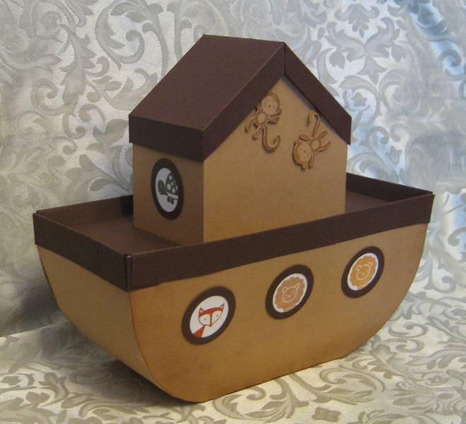 Noah S Ark Gift Box By Lpratt At Splitcoaststampers