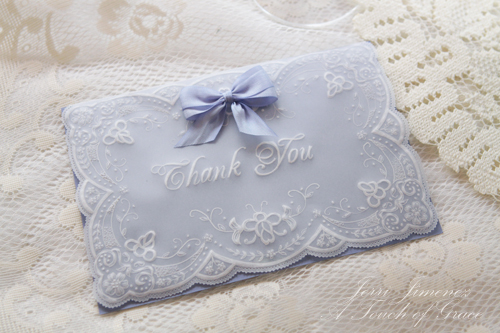 Parchment Craft Thank You Cards 2 By Jerri Kay At Splitcoaststampers