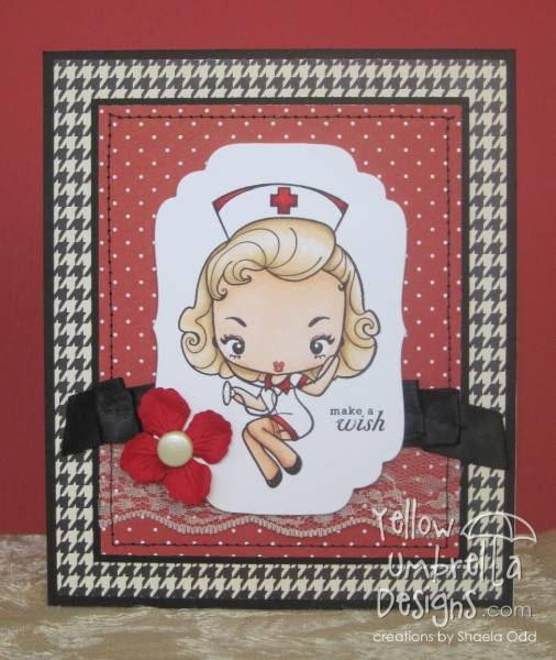Cheeky nurse birthday card by shaela at splitcoaststampers bookmarktalkfo Images