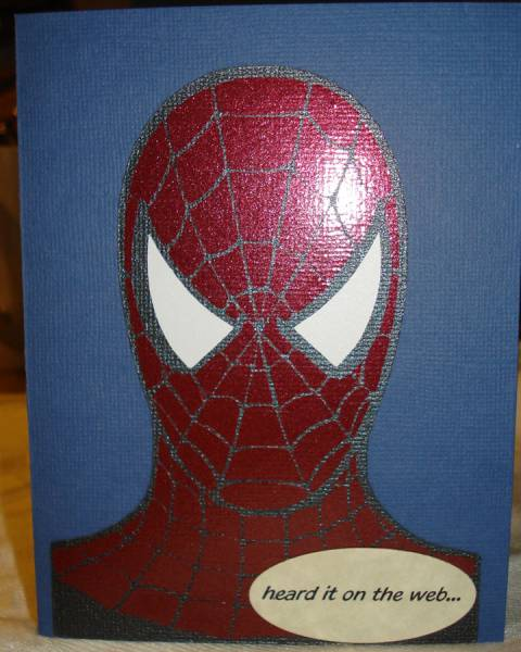 Made With My Cricut Spiderman By Sandyh124 At