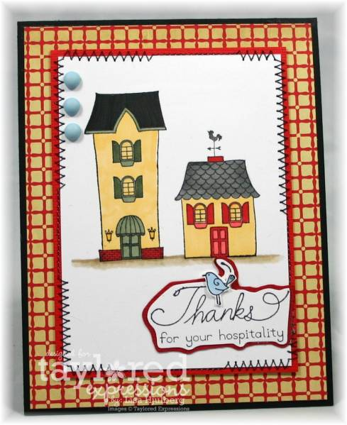 Thanks for Your Hospitality by TheCraft'sMeow - at Splitcoaststampers