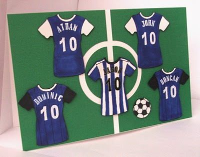 football/soccer birthday cards. by riverisis  cards and paper, Birthday card