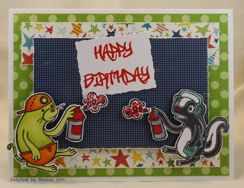 Happy Birthday Schrift Graffiti ~ Happy birthday graffiti by kanatanewf at splitcoaststampers