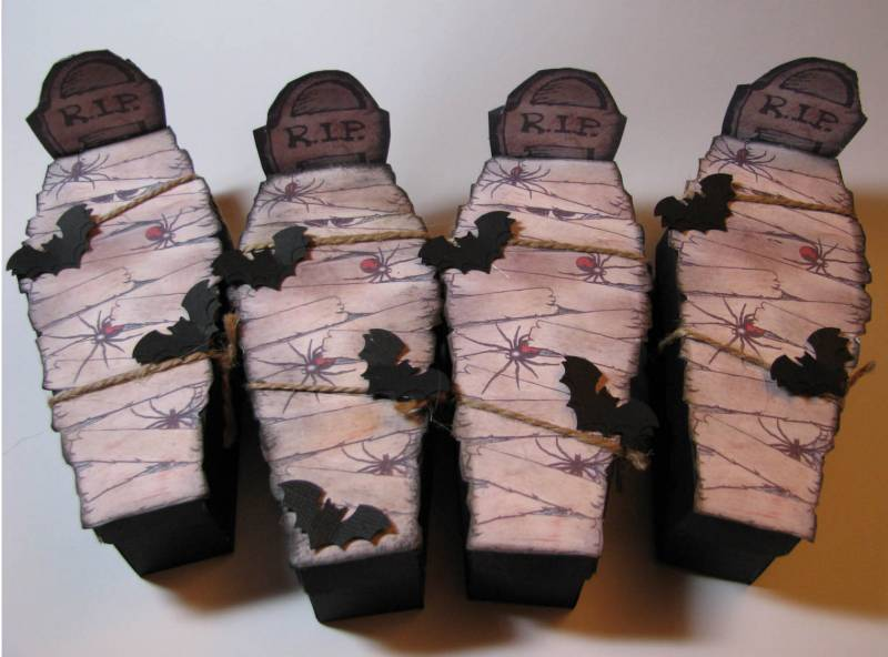 Halloween Coffin Treat Boxes By Jakester At