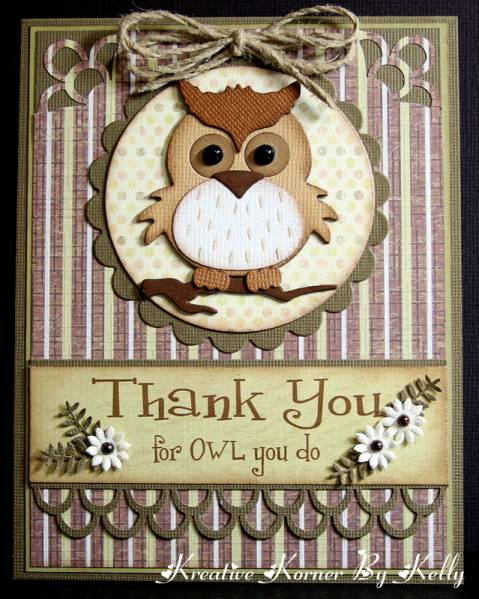 thank you for owl you dokcs1955  at splitcoaststampers