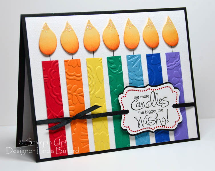 Rainbow Birthday Candles By Labullard