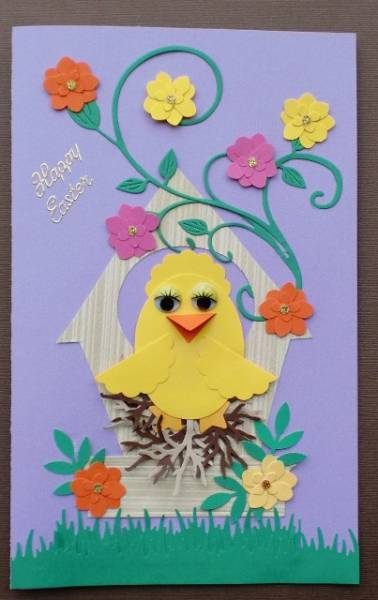 Easter Chick Card by Charminglycreative - at ... - photo#13