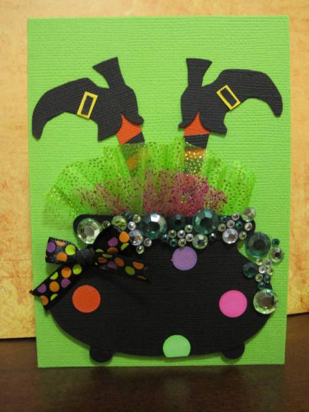 Funky Witch By 1crzystamper At Splitcoaststampers