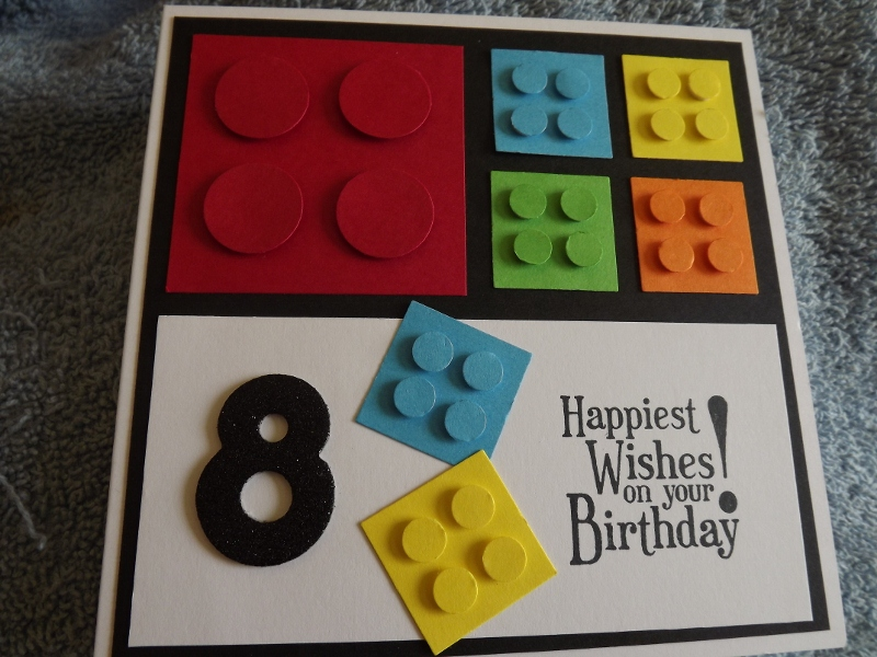 lego card by mitch1 at splitcoaststampers