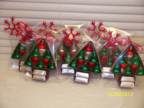 Hershey 39 s christmas tree treat by d daisy at for Edible christmas gifts to make in advance