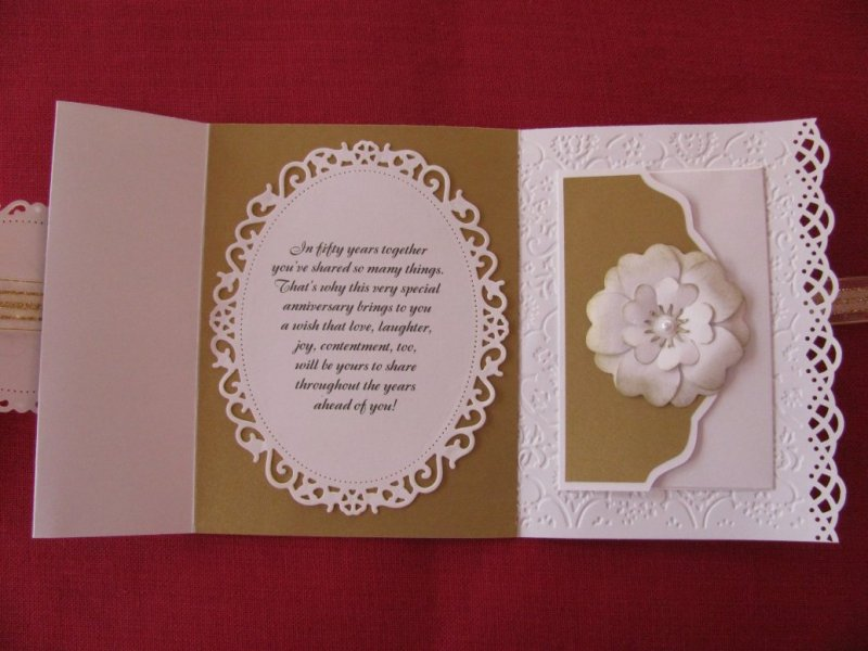 50th anniversary card  openedixfquiller  at