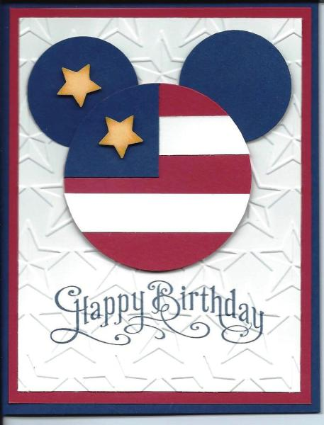 Born On The 4th Of July Cards Mickey Birthday...