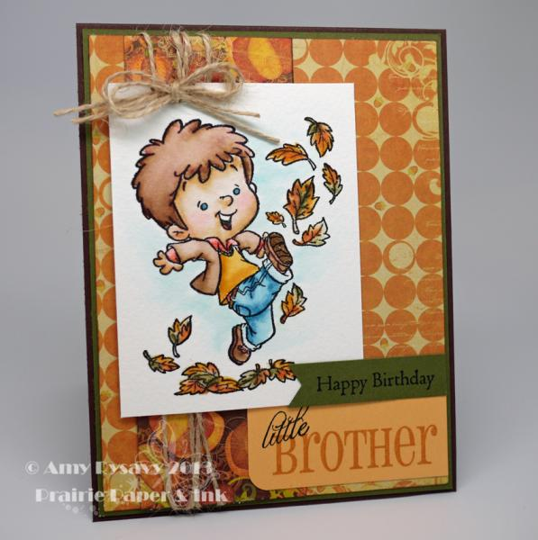 Happy Birthday Little Brother by AmyR - Cards and Paper ...