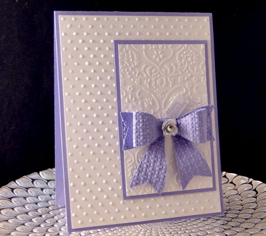 Paper Bow Bday Ccard By Jasonw1 At Splitcoaststampers
