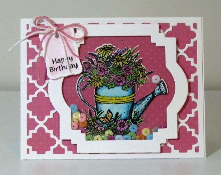 Our Daily Bread Designs, Hyacinth, Watering Can