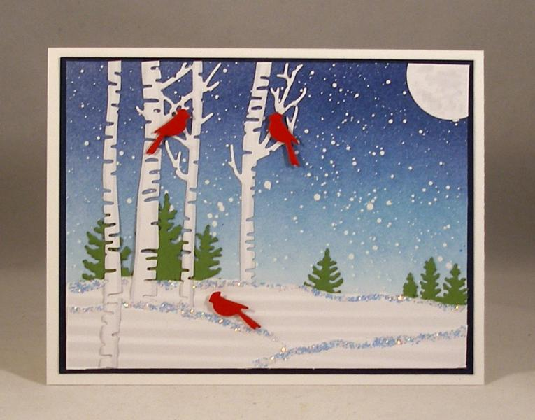 cardinals in winter lb by clownmom