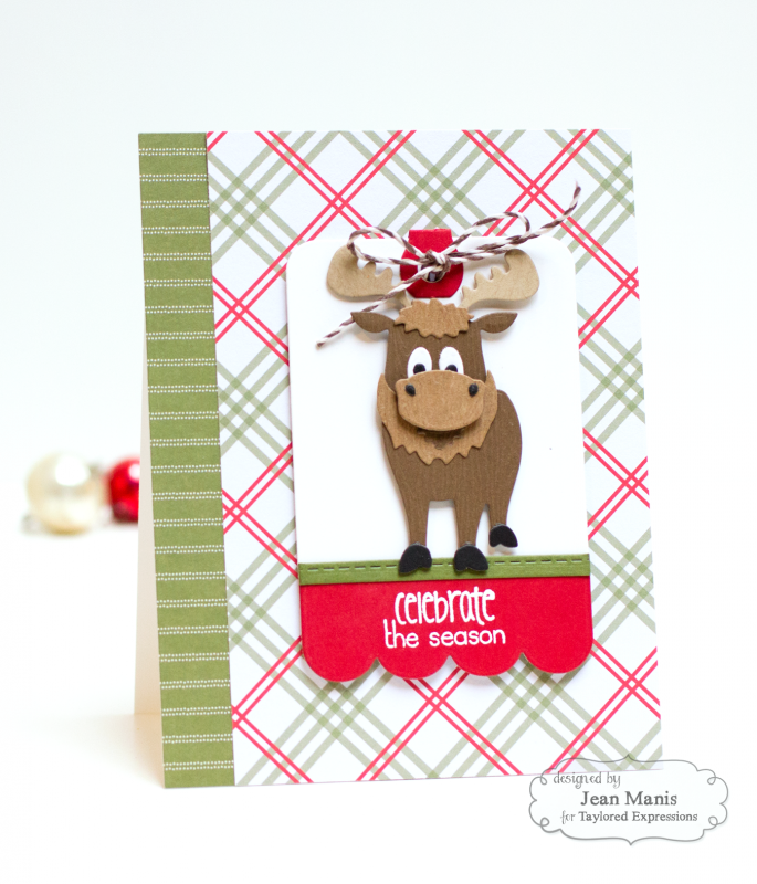 Jean Manis Taylored Expressions Little Bits Moose