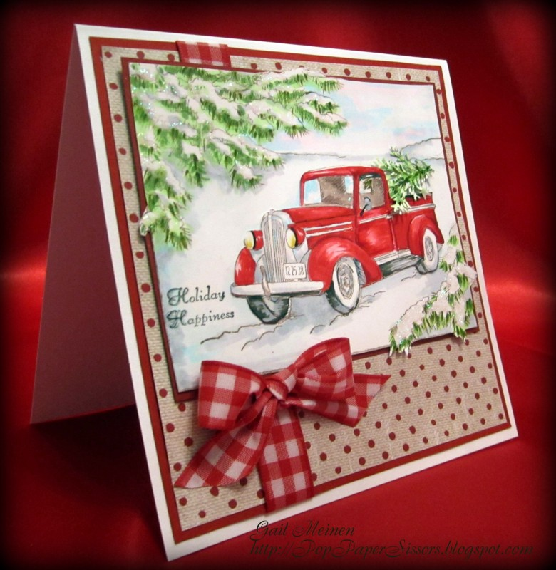 F4A303 Christmas Vacation by GailNM - at Splitcoaststampers