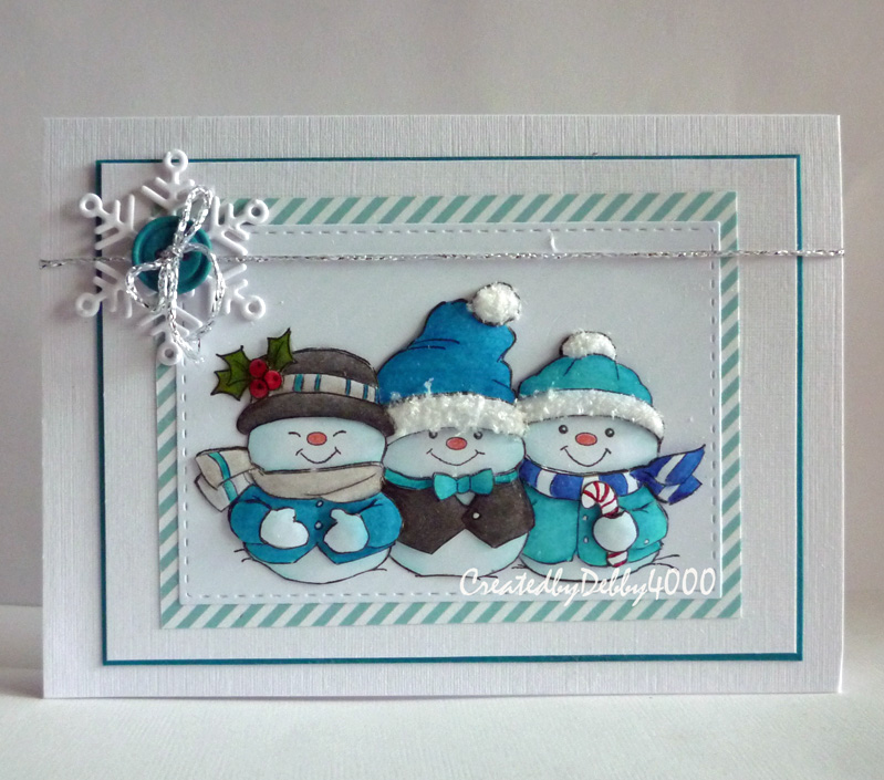 Snowbuddies by debby4000 cards and paper crafts at for Coralville arts and crafts show