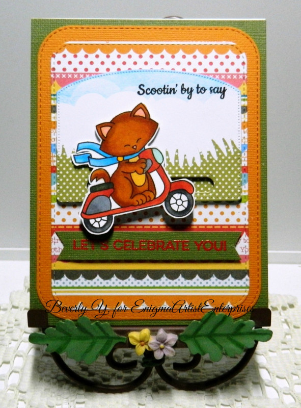 Scootin by to say by Beverly features Newton Scoots By by Newton's Nook Designs; #newtonsnook