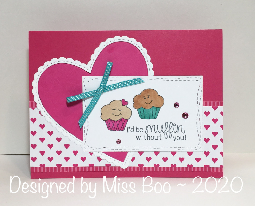 I'd be muffin without you by Miss Boo features Love Bites by Newton's Nook Designs; #newtonsnook