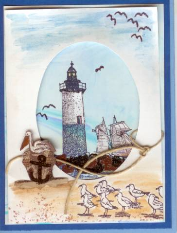 Lighthouse Oval By Ruby Heartedmom At Splitcoaststampers