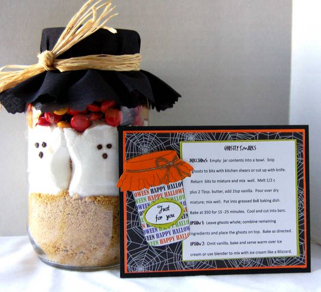 Halloween Baby Gifts Ideas : Ghostly s mores by jlazarski at splitcoaststampers