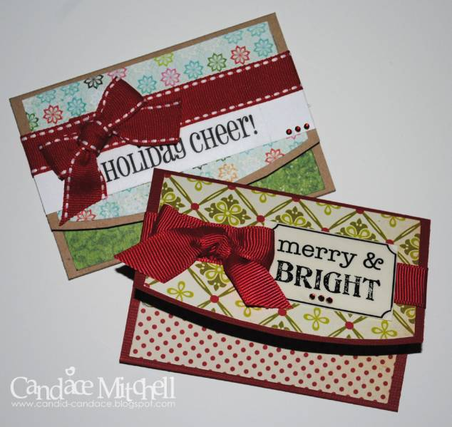 Diy Christmas Gift Card Holder: Christmas Gift Card Holders By Candylou