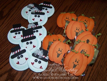 Splitcoaststampers Craft Fair Ideas for Halloween and Christmas