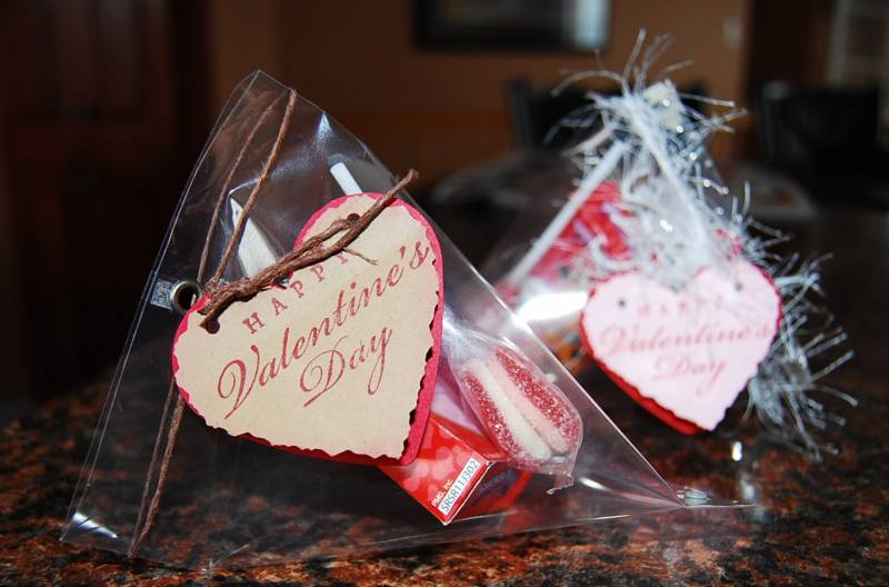 Sour Cream Treat container for Valentines by Darla RyanCards