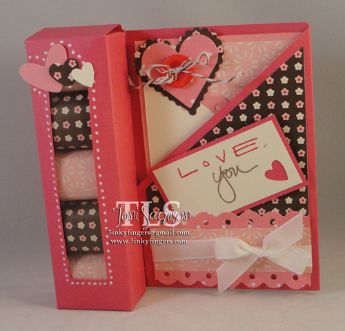 Valentine Treat Box Card Assortment by T.SacrisonCards and
