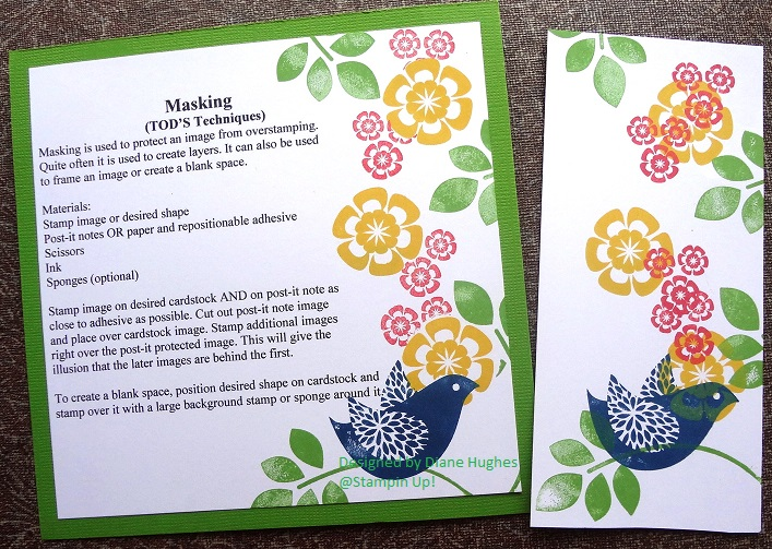DH Masking and NO Masking by diane617 - at Splitcoaststampers