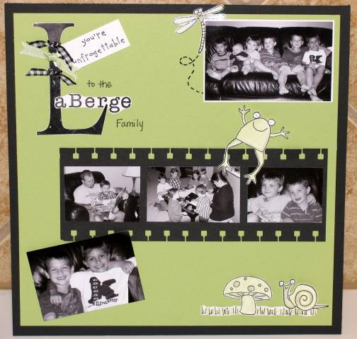 Friends Farewell Scrapbook Page By Kllaberge At Splitcoaststampers