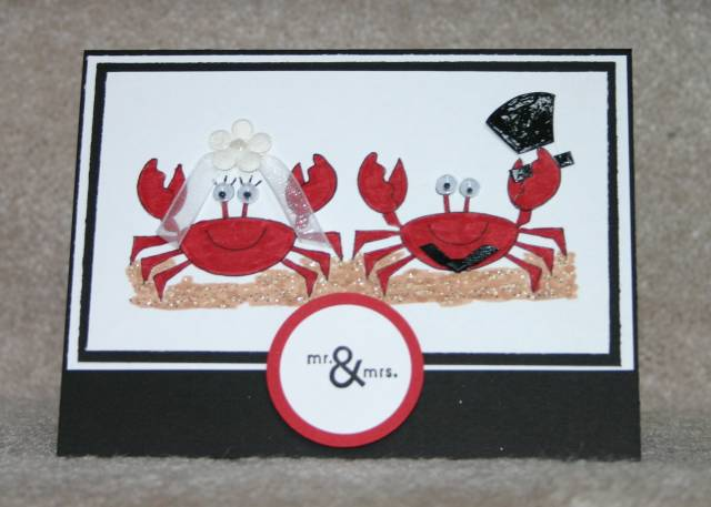 Crab and Company Wedding Card Case
