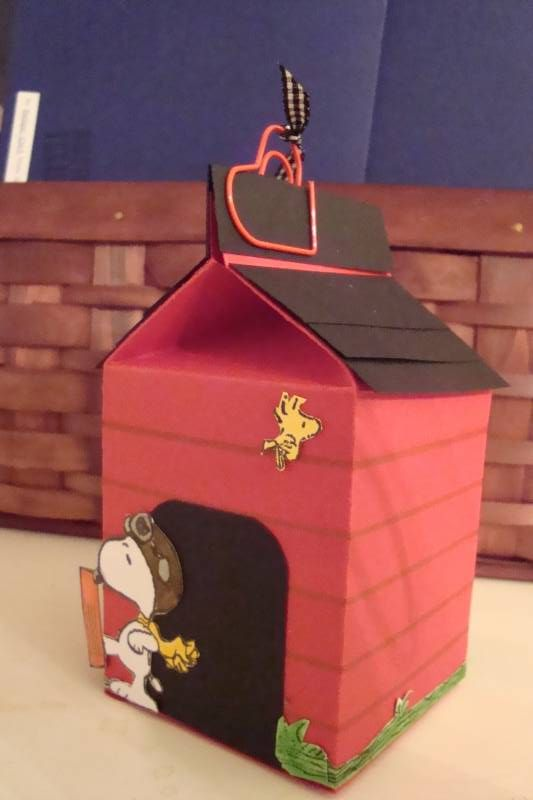 Snoopy S Doghouse Milk Carton By Ruby Heartedmom At